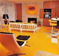 1970s living room design. | vintage interior picturebook ...