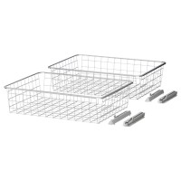 ELG Wire basket - IKEA $20/2pk | Closet or Laundry Room ...