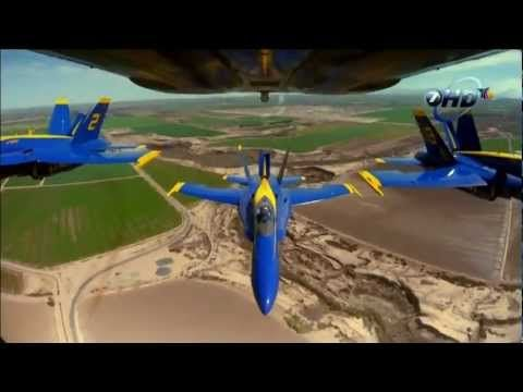 Tribute to Blue Angels with Dreams by Van Halen as in the original
