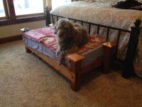 Crib mattress turned dog bed | Winnie | Pinterest