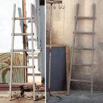 Rustic Wood Ladder Decorative