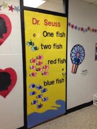 Door contest for Dr. Seuss Week | Dr. Seuss Theme | Pinterest