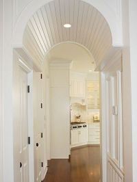 barrel vaulted ceiling archway | Remodel | Pinterest