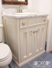 Build your own bathroom vanity | Bathroom Ideas | Pinterest