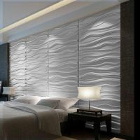 Texture paintable wall tiles | Hollywood Regency | Pinterest