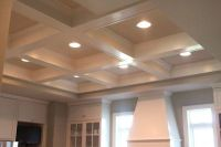 Box beam ceiling | building a new home | Pinterest