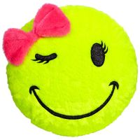 Smiley Face Pillow pillows ($24) | SmIleS | Pinterest
