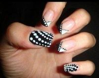 Black And White Nail Designs Pinterest | Joy Studio Design ...
