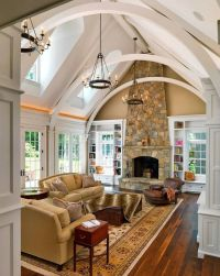Cathedral ceilings | Dream Home Ideas | Pinterest