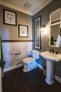 Accent wall for the bathroom | Bathroom ideas | Pinterest