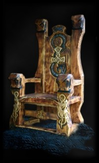 Norse throne | Viking and Celtic | Pinterest