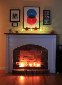 Pin by Elizabeth Kehew- Prybylo on My Fake Fireplace ...