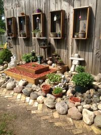 Pinterest Garden Ideas Rocks Photograph | Rockgarden | Rock