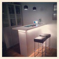 Home made bar with ikea furniture | House Things I like ...