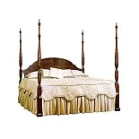 Rice Carved Bed From Henkel Harris House Ideas Pinterest