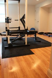 Basement gym | Dream House | Pinterest