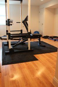 Basement gym | Dream House | Pinterest