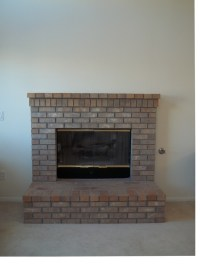 Raised hearth fireplace | For the Home | Pinterest