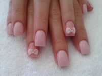 3D bow design | Nail it!!! | Pinterest