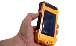 ... Waterproof, Solar-Charged, Battery-Powered iPhone Case Unveiled on