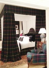 Ralph Lauren plaid, bedroom style | Dashing Decor | Pinterest