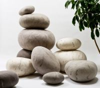 Feltet Rock Pillows | Textiles | Pinterest