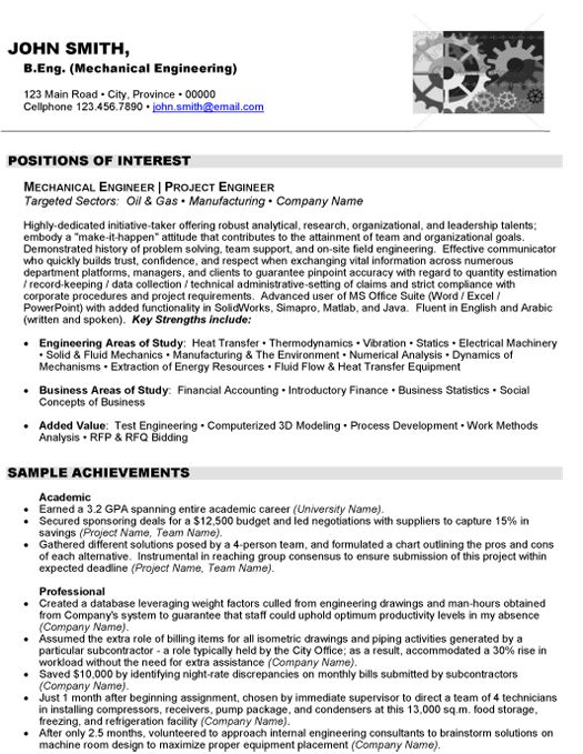 sample resume for junior mechanical engineer automotive mechanical engineer resume example mechanical engineer resume sample httpresumetargetresume - Junior Mechanical Engineer Sample Resume