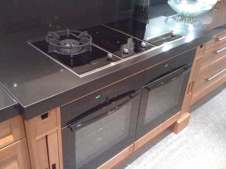 Side By Side Ovens Side By Side Neff Ovens With Hobb Above | Kitchen | Pinterest