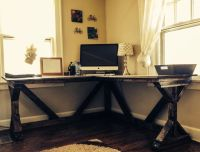 DIY corner desk (pin 2 of 2) | DIY Projects | Pinterest