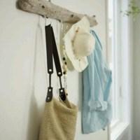 Driftwood coat rack | Zimmer | Pinterest