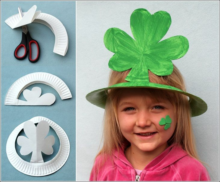 Diy Paper Plate Hats For Kids At Grammy Tee39s Pinterest
