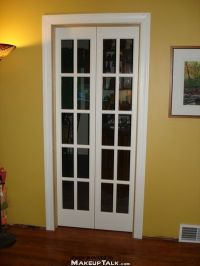 diy mini french doors into master closet | improve.my.home ...