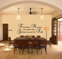 Dining Room Wall Vinyl Quotes. QuotesGram