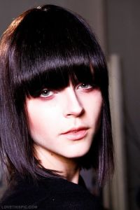 Dark violet hair color | Hair & beauty | Pinterest