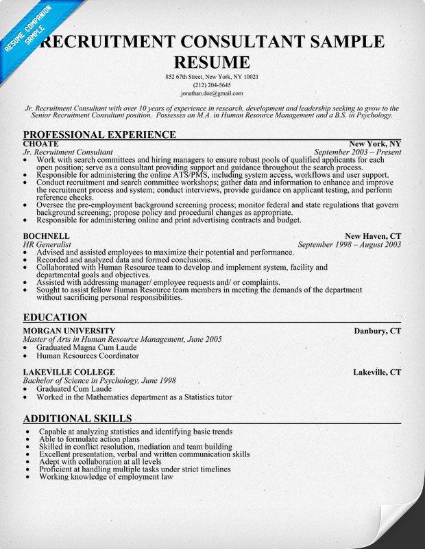 Sales Team Recruiter Resume | Cvresume.cloud.unispace.io