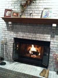 Whitewashing Brick Fireplace   Joy Studio Design Gallery ...