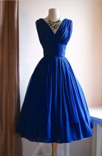 Bridesmaids dresses. Sapphire blue | Wedding | Pinterest