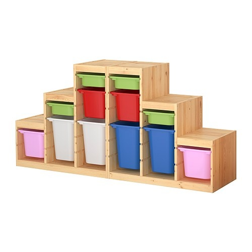 Toy Organizer Ikea Ikea Toy Storage System For The Playroom | Finished