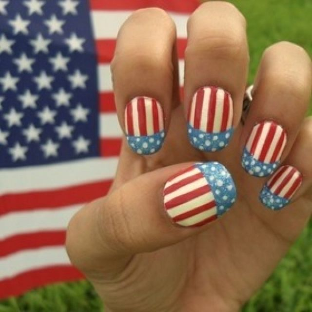 Patriotic Nail Polish Fourth Of July Beautyish