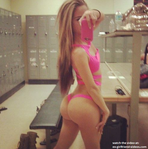 ebony booty selfie