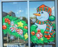 Christmas Window Painting Designs | www.imgkid.com - The ...