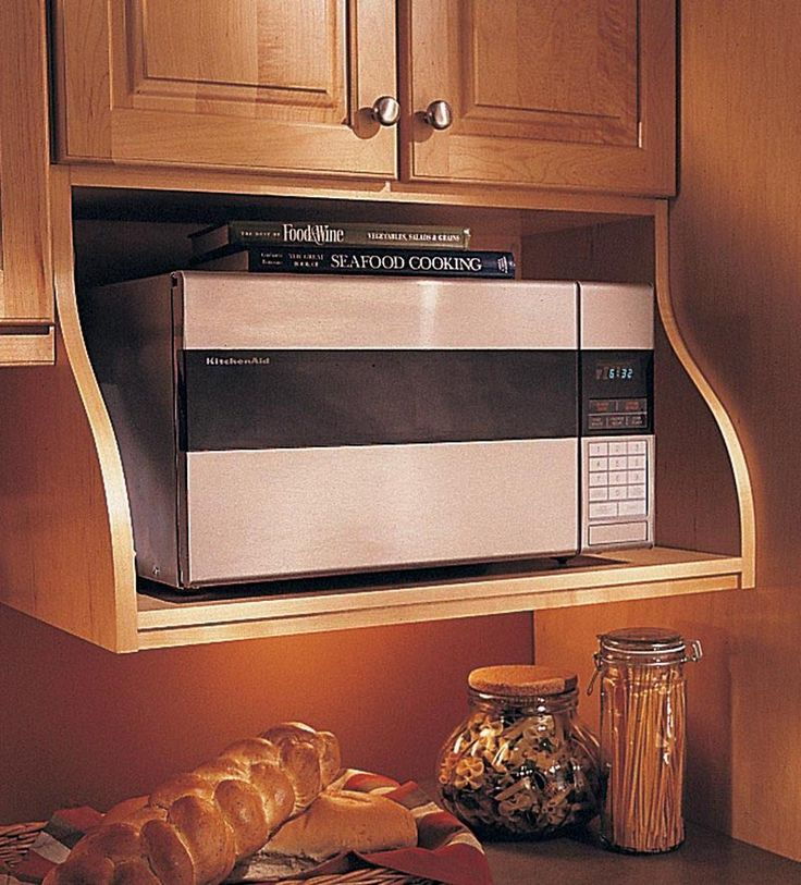 Customizing And Hanging The Microwave Cabinet Loving Here