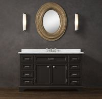 Restoration Hardware vanity | Dream Bathroom | Pinterest