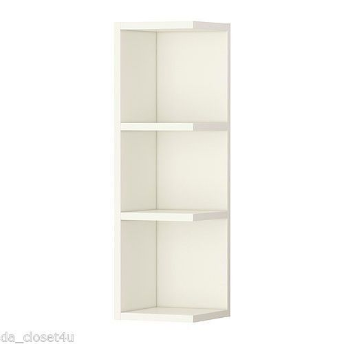 Ikea Eckregal Küche Weiß Ikea Corner Shelf Wall End Unit Cabinet Open Bathroom