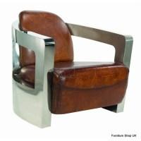 Vintage Aviator Leather Club Chair   mmmhmmm   Pinterest