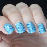 BEST nail art water drops EVER! | Nails | Pinterest
