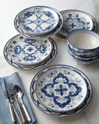 "Portuguese ""tile"" dinnerware 