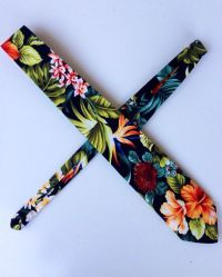 Hawaiian Floral Print Necktie   Hawaiian Wear   Pinterest