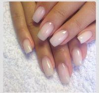 cute natural nails | Nail Art | Pinterest