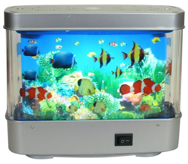 Moving fish aquarium night light | My Childhood